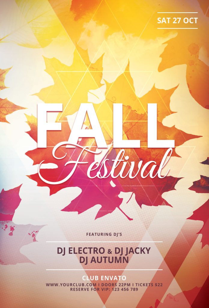 fall fest flyers - Pinarkubkireklamowe