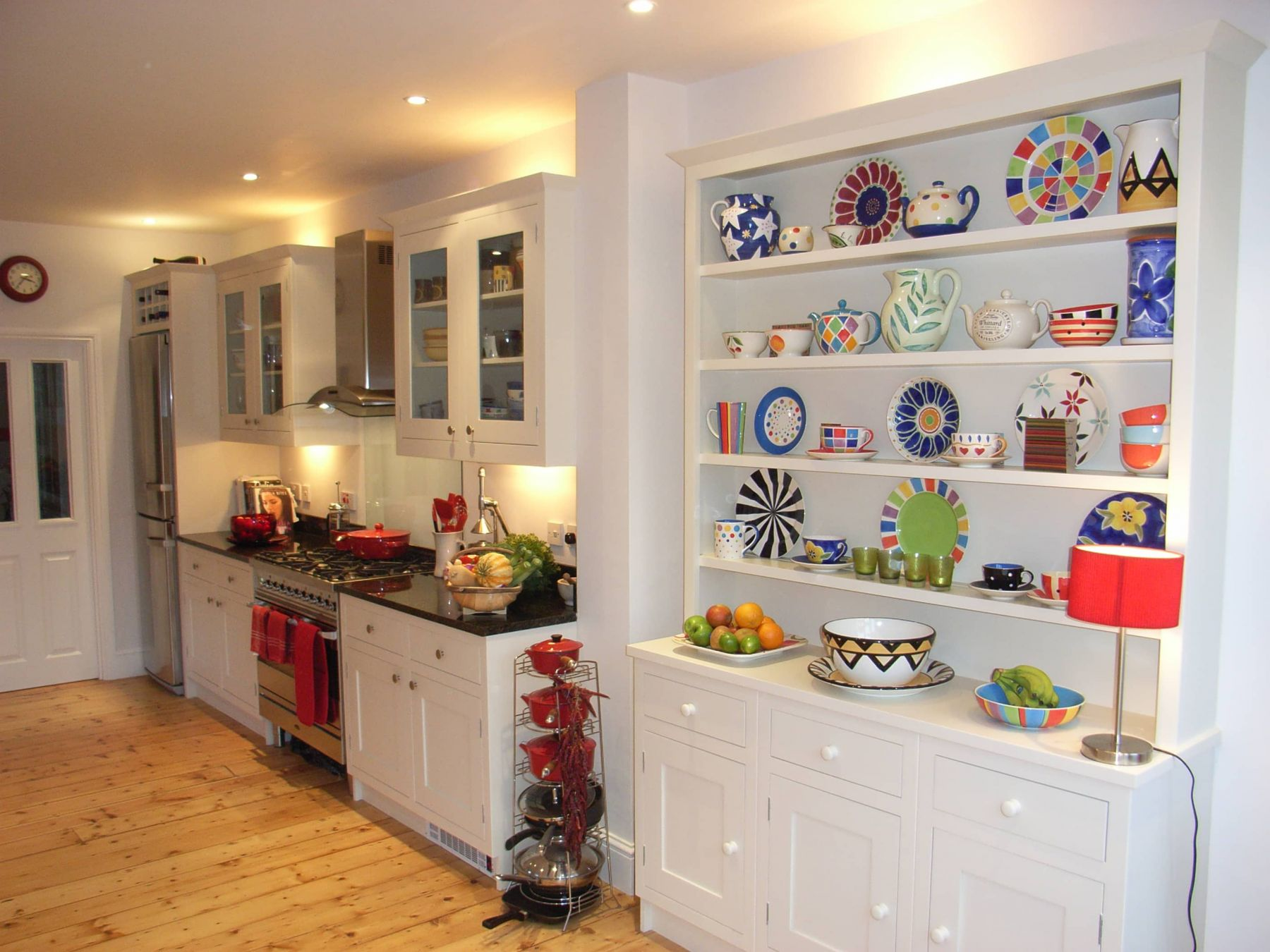 Kitchen Cupboard Uplighters Kitchen With Colourful Accessories Style Within