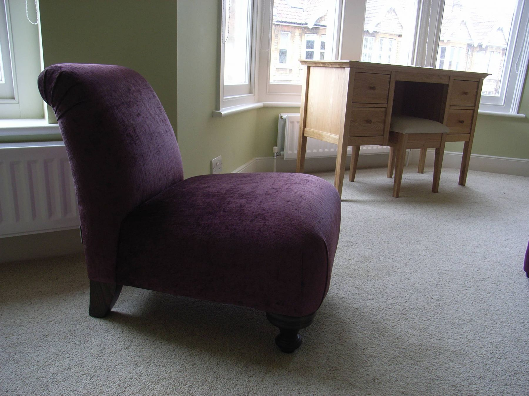 Purple Bedroom Chairs Bedrooms