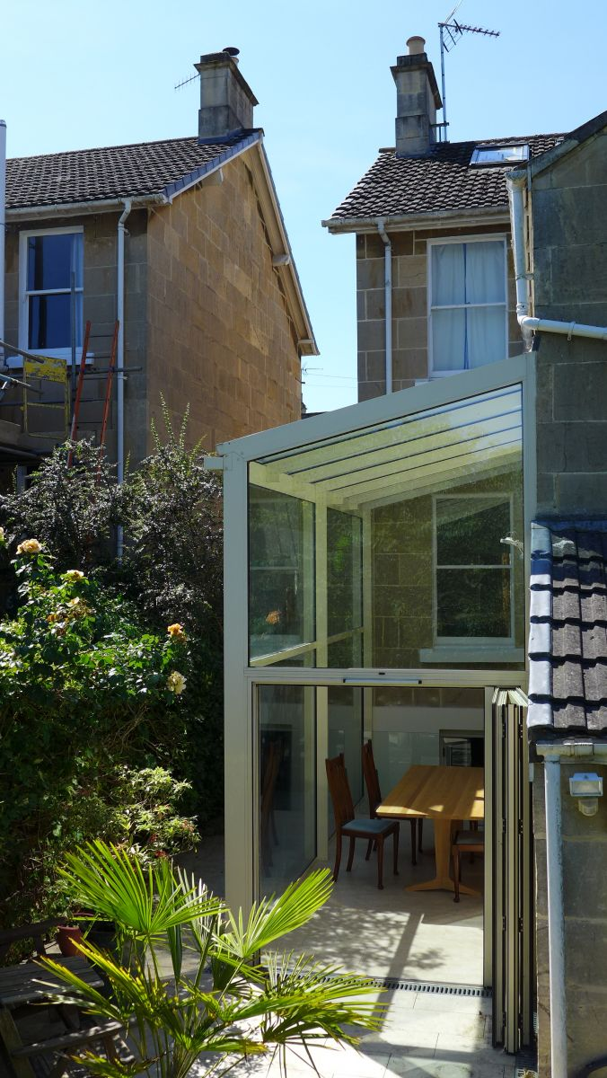 Glass Roof Extension Side Extension With Glass Roof Style Within