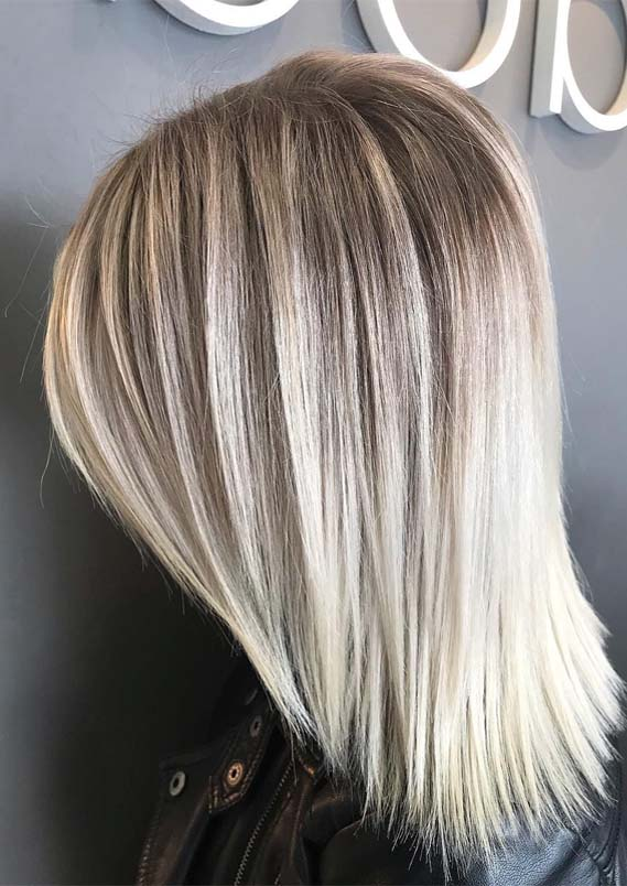 Haircut For Fine Mid Length Hair Fantastic Shoulder Length Blonde Haircuts For Every Woman