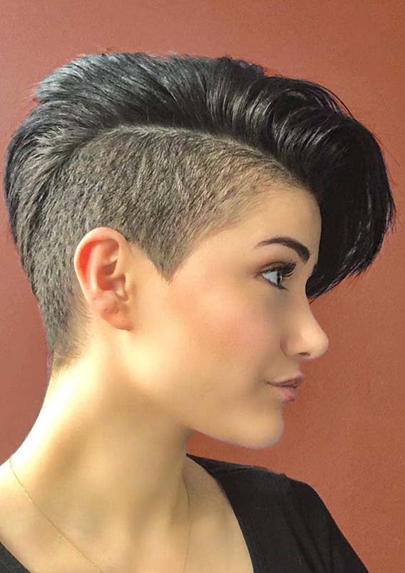 Cute Pixie Haircut Styles Sensational Short Pixie Haircut Styles For Round Faces In