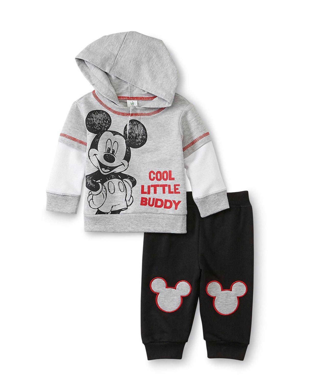 Baby Newborn Unisex Clothes Disney Baby Hoodies Mickey Mouse Sweatpants Set Baby
