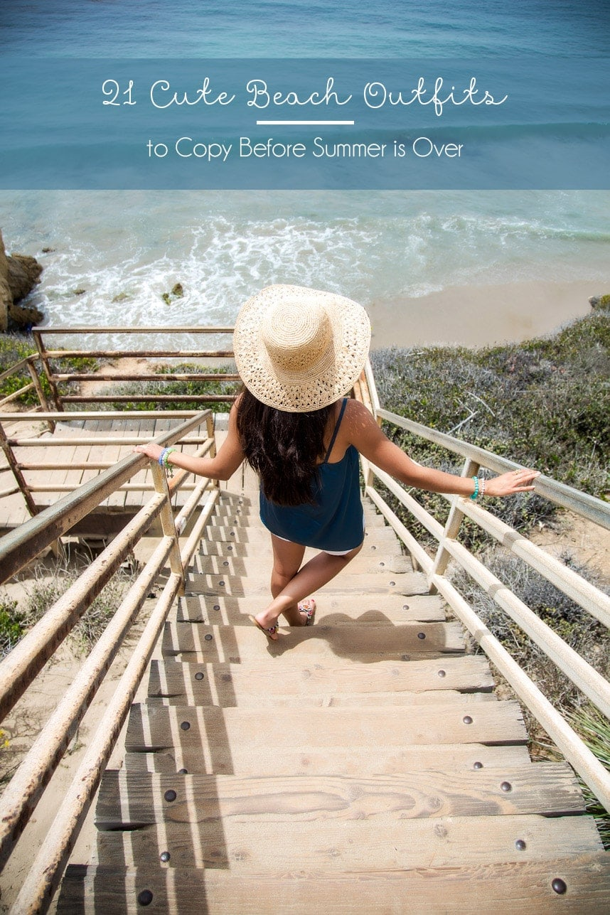 Before I Fall Quotes Iphone Wallpaper 21 Cute Beach Outfits For Your Summer Outfit Inspiration
