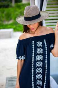 A Cute Outfit for a Beach Vacation in Mexico