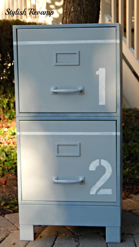 30 Innovative Spray Painted File Cabinets