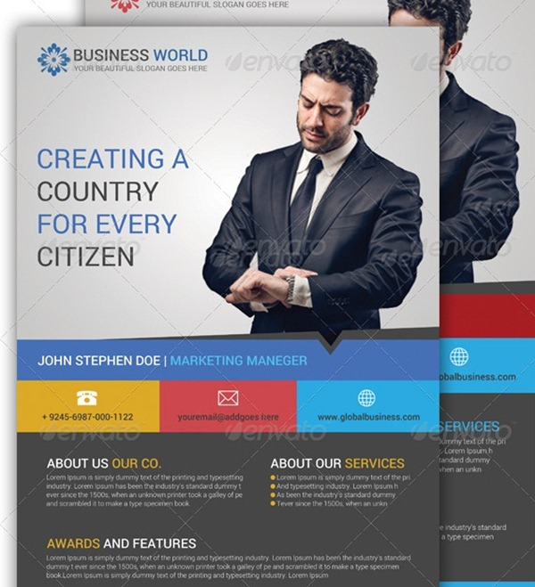 30 Professional Corporate Flyer Templates - corporate flyer template