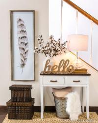 12 small entryway decor ideas you can copy ...