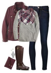Cute Fall Outfits With Scarves - Erieairfair
