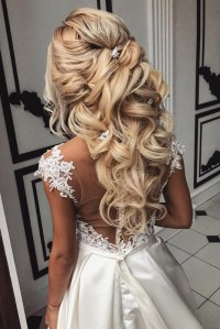 25 AWESOME WEDDING HAIR HALF UP IDEAS  My Stylish Zoo