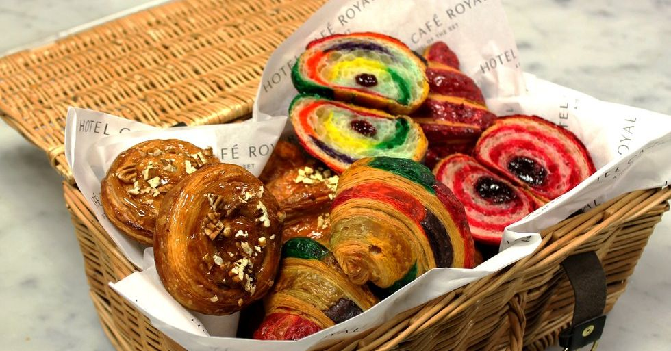 Rainbow Croissants Where To Buy Them In London