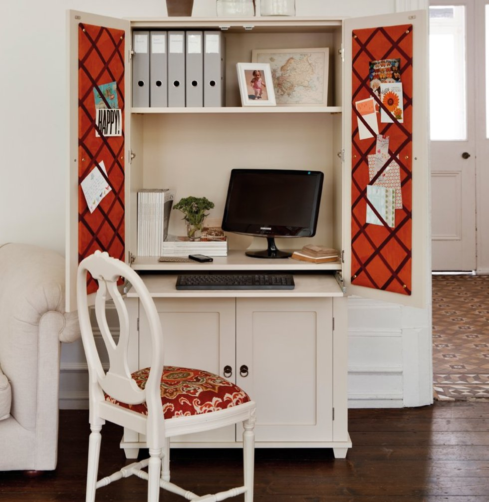 Hidden Desk Hidden And Pop Up Home Office Inspiration To Fit Any Living Space