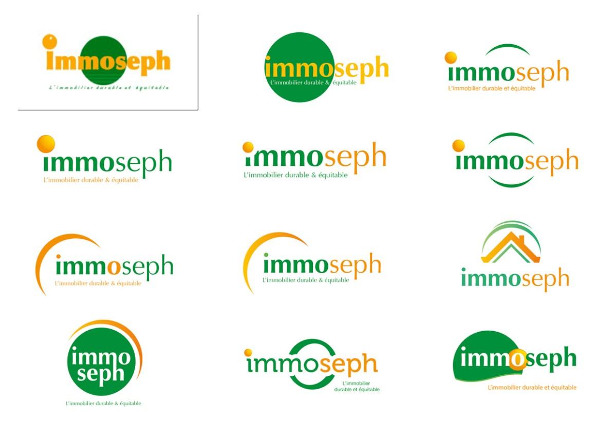 Recherche logotypes immoseph