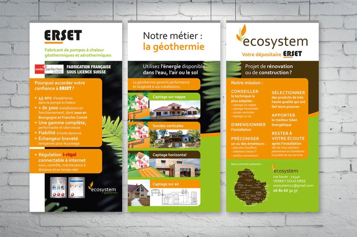 Bâche stand Ecosystem