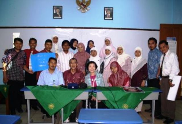 Kunjungan Ahli Kebijakan Lingkungan Jepang Ke SD Muhammadiyah 5 Jakarta - SuaraJakarta.com