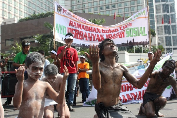 Dari Seni Teaterikal, Tanjidor sampai anak Punk ikut Karnaval Ramadhan