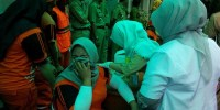 Pemkot Jakpus Berikan Imunisasi Tetanus Untuk 248 Petugas PPSU
