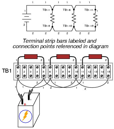 dc terminal block wiring diagram