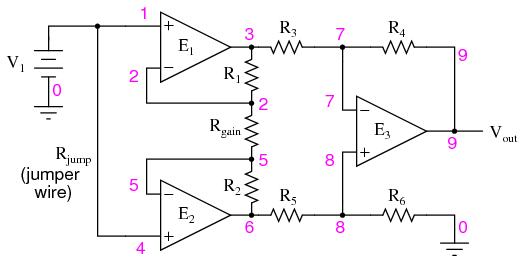 common op amp circuit