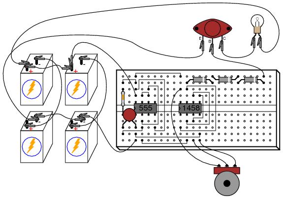 pwm controller 555 timer circuits
