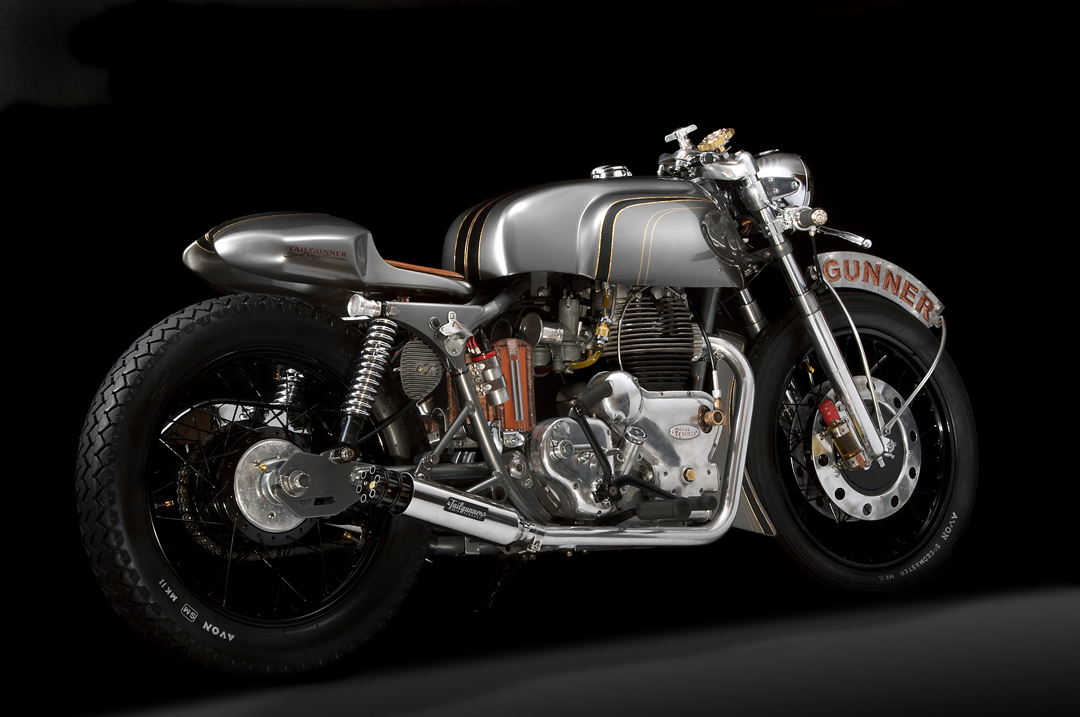 Royal Enfield Cafe Racer Hd Wallpaper 1968 Royal Enfield Interceptor 750 Custom By Tailgunner Is