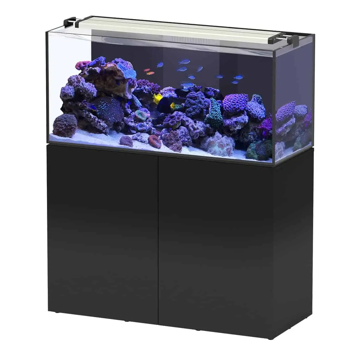 Aquarium Et Meuble Aquaview 120 Noir 73 Gal Subaquatique Boutique D