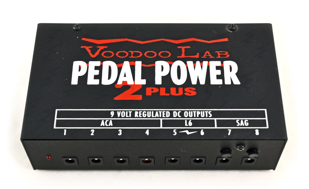 Voodoo Lab Pedal Power 2 Plus Guitar Effects Subdecay