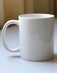 11oz White Mug