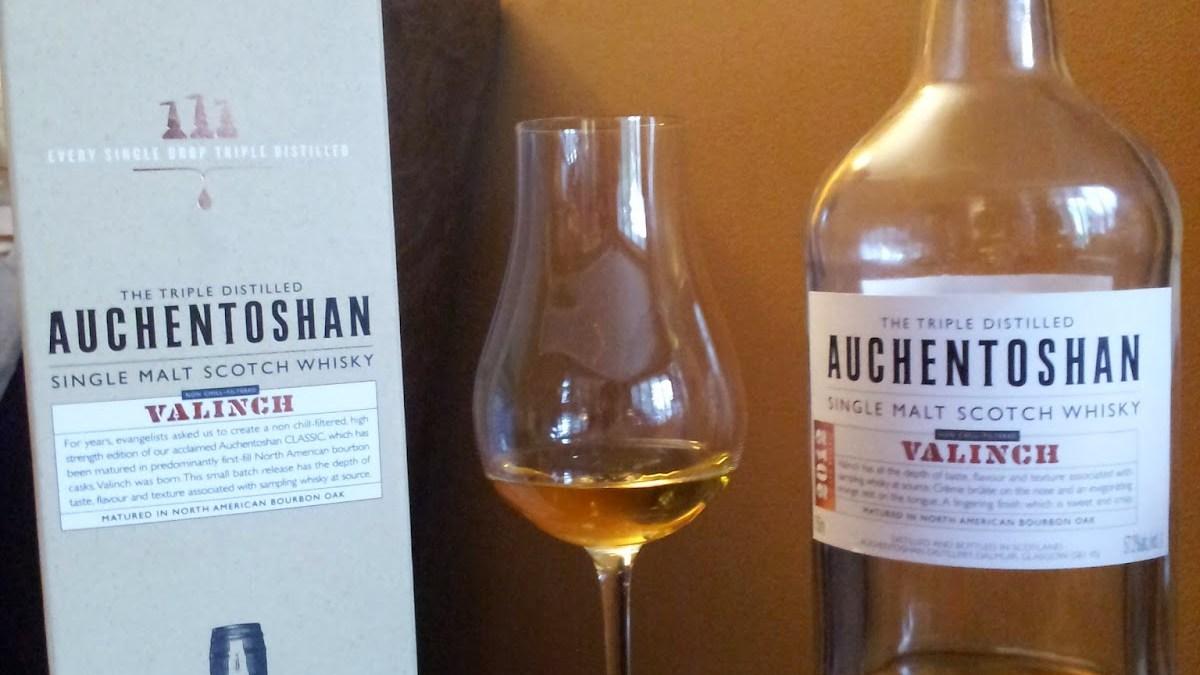 Hard to Pronounce, Easy to Enjoy: Auchentoshan Valinch 2012 Single Malt Scotch