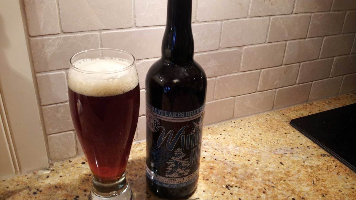 A Cold Weather Classic: Great Lakes Brewery Winter Ale