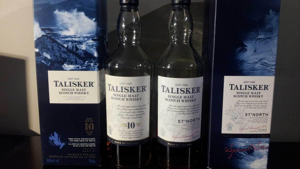 Head to Head: Talisker 10 Year vs. Talisker 57° North Scotch Whisky