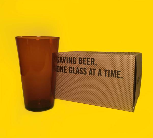 BRU-V -- Saving beer, one glass at a time.