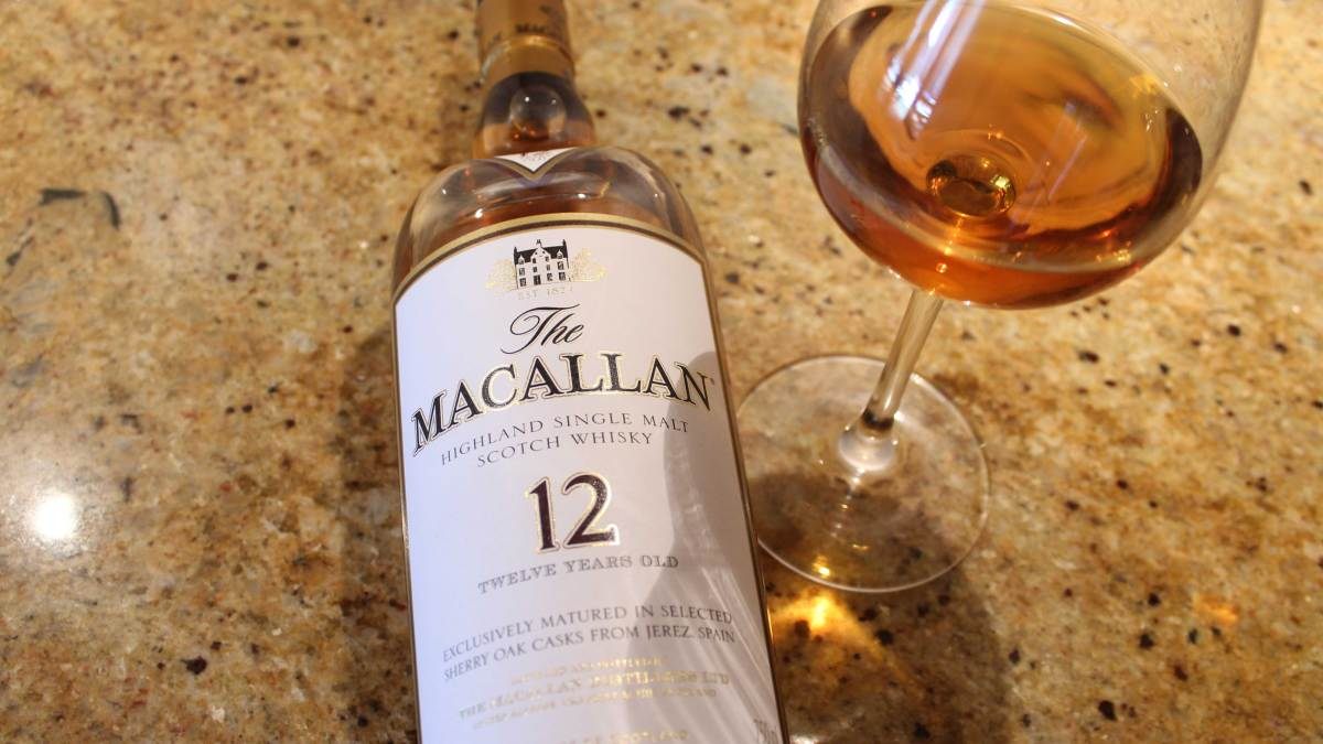 The Macallan 12: Dropping Sherry Bombs
