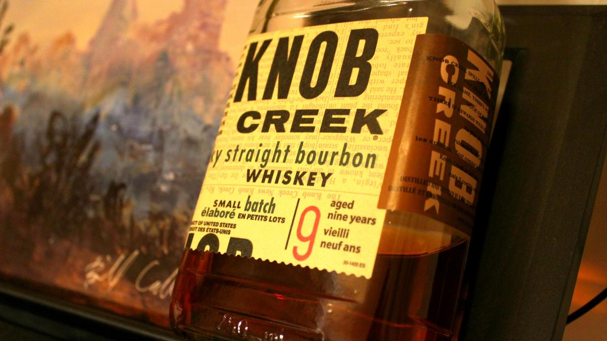 Knob Creek 9 Year Small Batch is BIG Bourbon