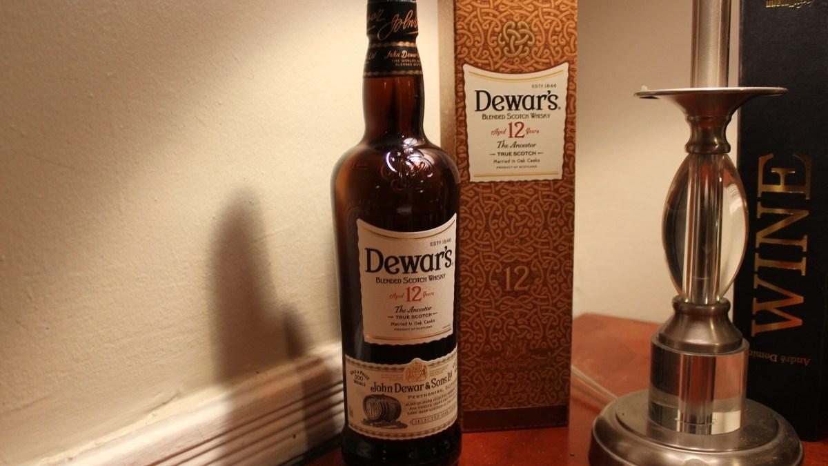 Dewar's 12 Year Delivers a Delicious Dram
