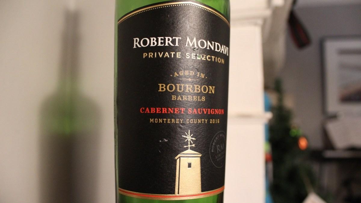 Robert Mondavi Private Selection Bourbon Barrel Cabernet Sauvignon is a Great Winter Wine