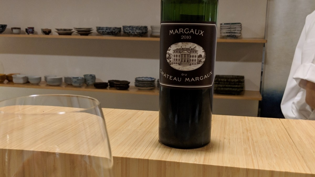 Margaux du Chateau Margaux 2010: Another Face on My Alcohol Mount Rushmore