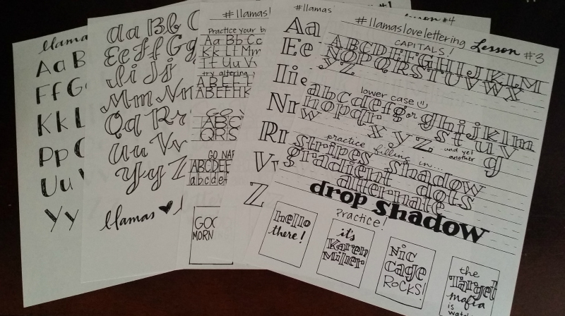 The ultimate list of free hand lettering resources! - Sublime Reflection