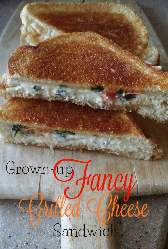 grown-up fancy grilled cheese sandwich! - Sublime Reflection