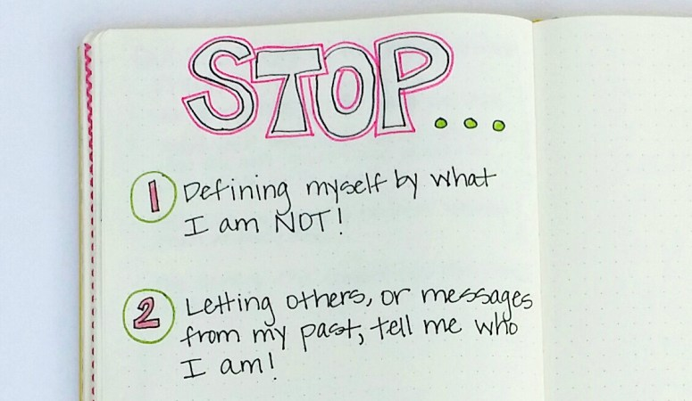 3 things you need to stop doing to be who you really are!