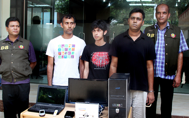 Bangladeshi blogger Russel Parvez, Subrata Shuvo and Mosiur Rahman Biplab had been arrested for allegedly hurting religious sentiment on 1st April 2013.