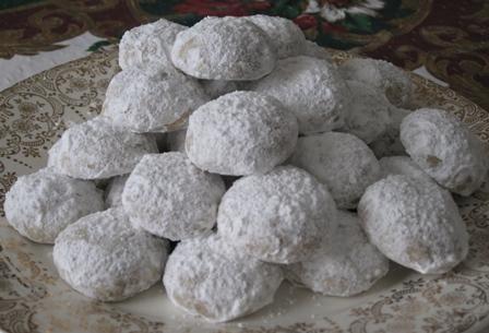 Pecan Butter Balls – Cookie Recipe