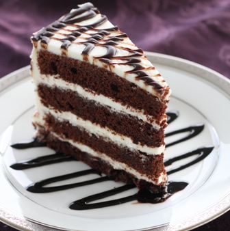 Delicious Chocolate Buttermilk cake with Vanilla Cream Cheese Frosting