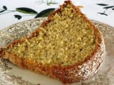 One Step Sponge Cake - serving piece (plain)
