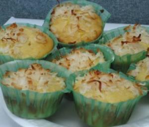 February cupcakes - Pinacolada 2