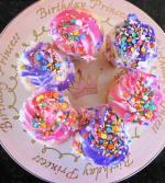 Rainbow cupcakes - Princes Platter