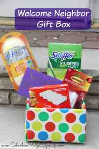 Welcome Neighbor Gift Basket