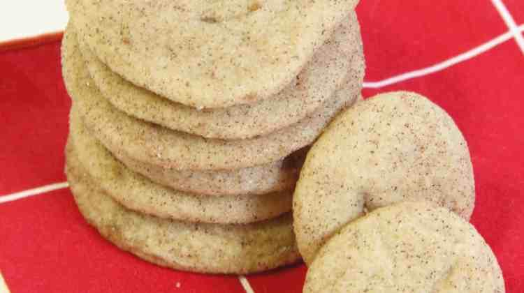 Soft & Sweet Snickerdoodle Cookies