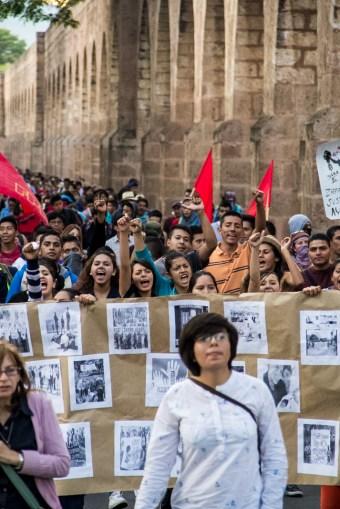 Marcha por desaparecidos de Ayotzinapa en Morelia - Alejandro Amado (7)