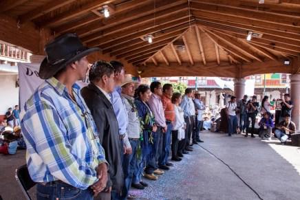Sin partidos ni elecciones, Cherán nombra a sus nuevas autoridades